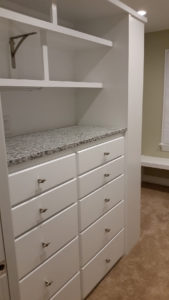 Fantasia Tile & Remodeling - Cary, NC Lochmere Neighborhood Master Bathroom Closet Remodel